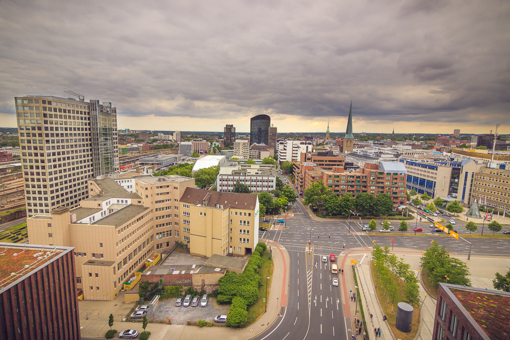 Aussicht Dortmunder U-Turm, Dach