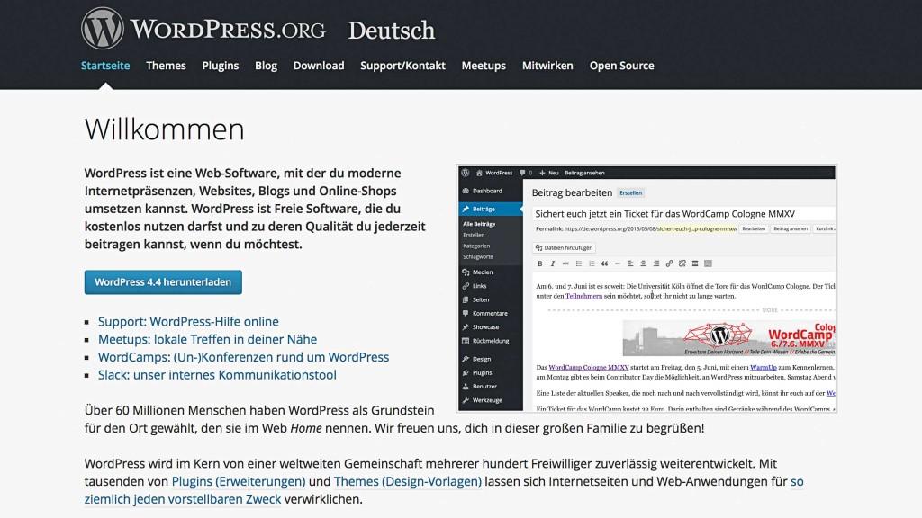 WordPress_org_UEbersicht