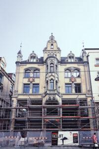 Erfurt - leider wurden viele der Bauwerke meiner Meinung nach ziemlich zerstört, nur im dort immer mehr Geschäfte anzusiedeln.