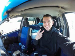 Selfie am morgen bevor es in die Sächsische Schweiz geht