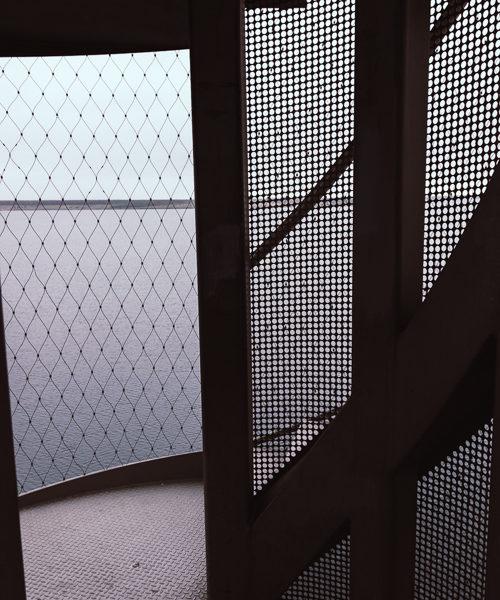 Der Durchgang, Welcher Die Treppen Verbindet