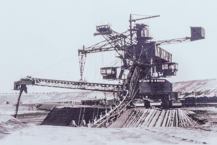 Tagebau In Bitterfeld Wolfen