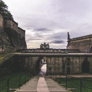 Die äußeren Festungsmauer