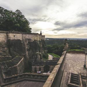 Ein Letzter Ausblick Von Der Festung...