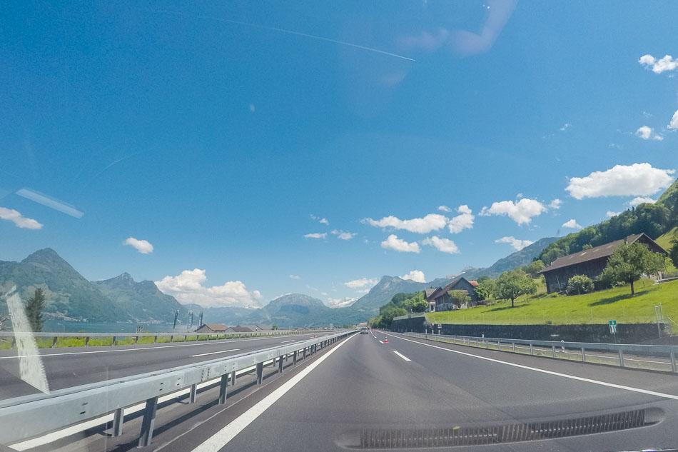 Vom Schwarzwald Nach Genua – Deutschland, Schweiz, Italien