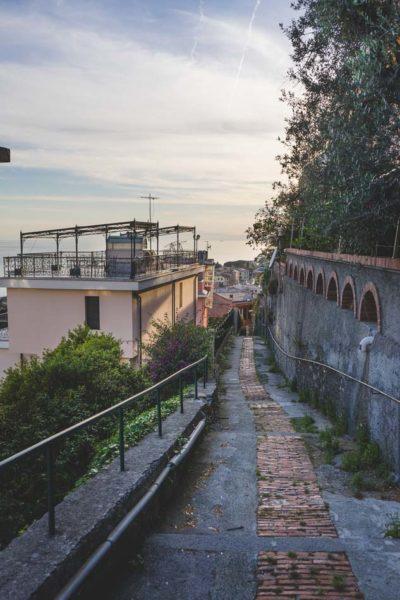 schmale Gassen in Bogliasco