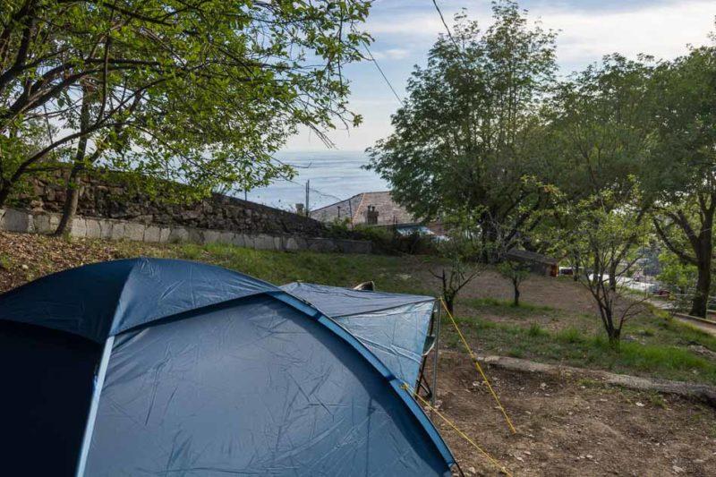 Camping in Genua - Bogliasco
