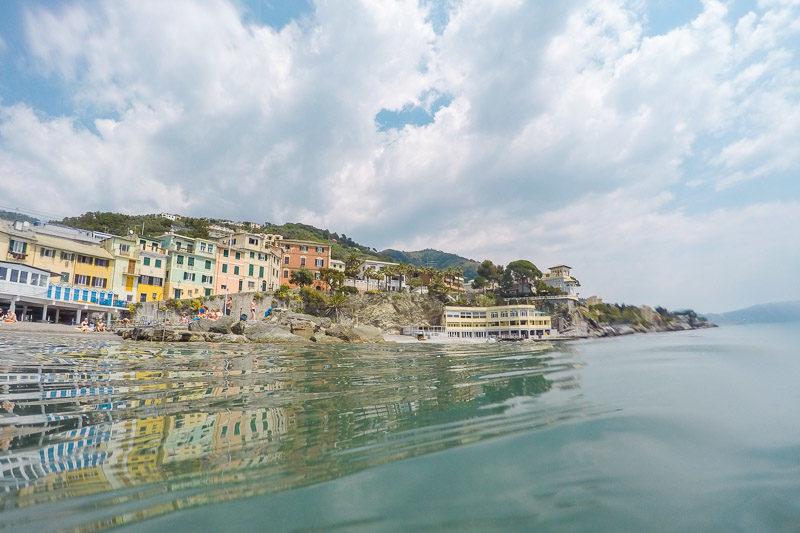 Küste Italiens - Bogliasco ein traumhafter Urlaubsort in Genua