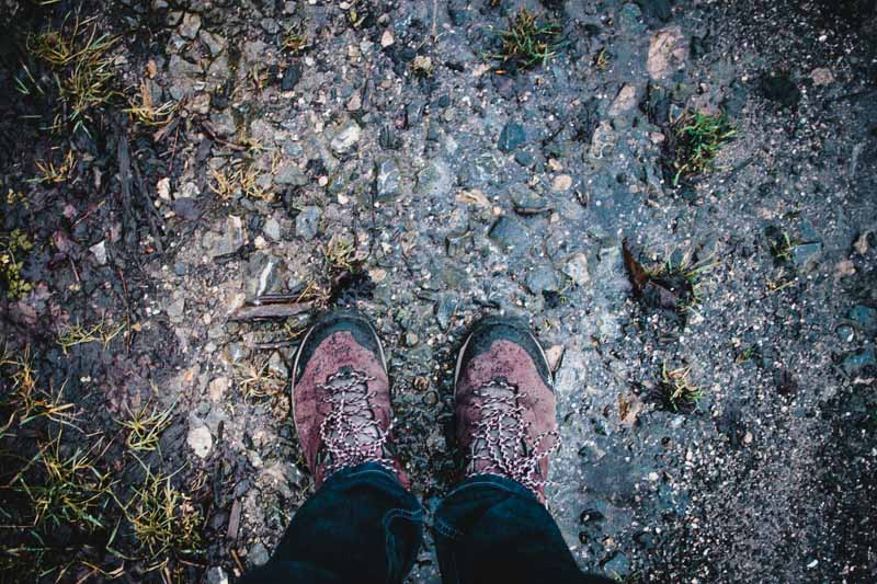 Wanderschuhe - bereit für das nächste Abenteuer