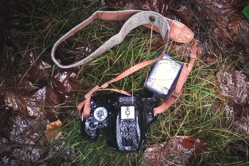 Canon eos 600d bei Regen, edler Kameragurt