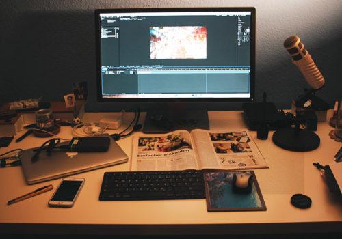 Fototagebuch - Videoschnitt Bis In Die Nacht