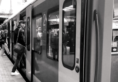 Fototagebuch - Studentenleben, Bahnfahren