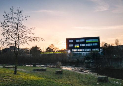 Fototagebuch - Sonnenuntergang Am Gevelsberger Ennepestrand
