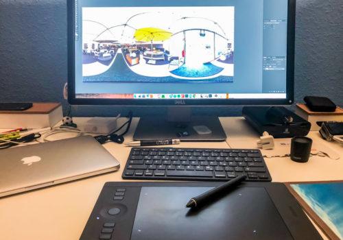 Fototagebuch - Photoshop, Schreibtisch, Setup