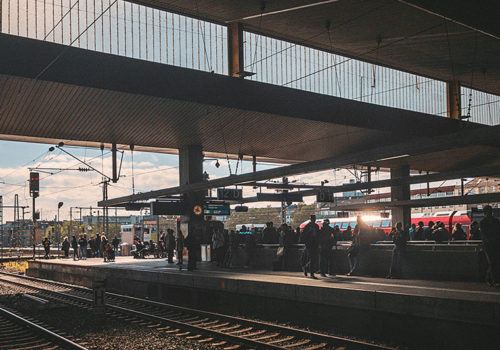 Fototagebuch - Düsseldorf Hauptbahnhof, IPhone Fotografie
